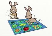 rabbit inside